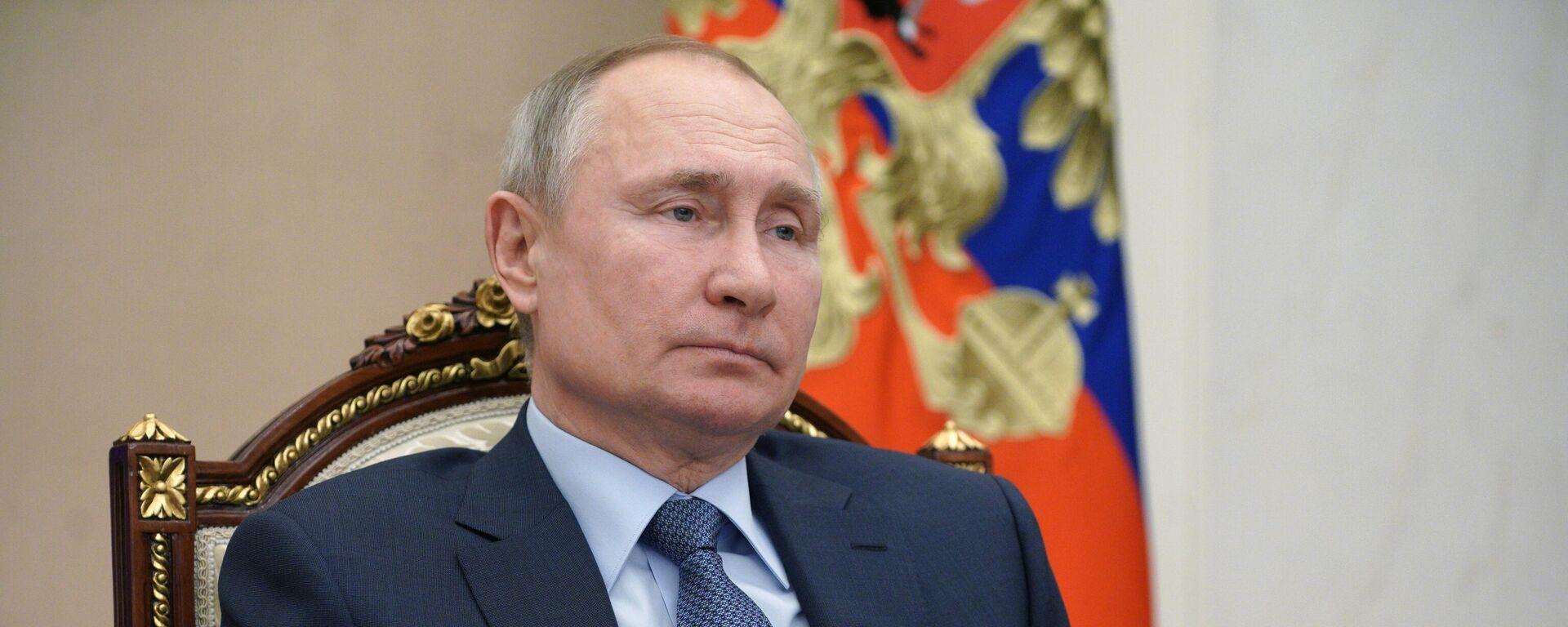 Vladímir Putin, presidente ruso - Sputnik Mundo, 1920, 27.06.2021