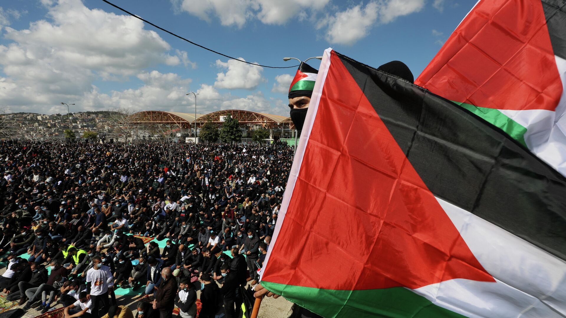 Árabes israelíes protestan contra violencia policial en Israel - Sputnik Mundo, 1920, 10.03.2021