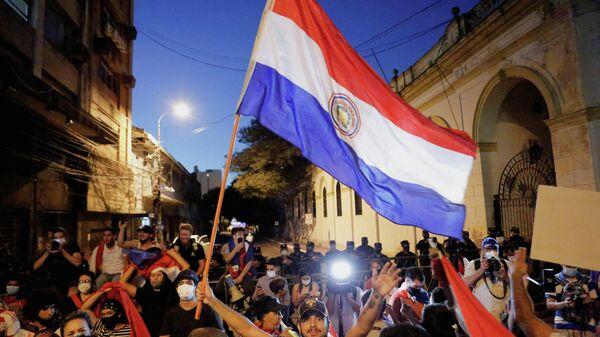 Protestas en Paraguay - Sputnik Mundo