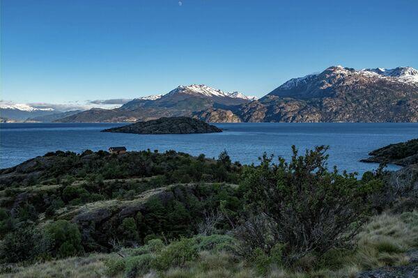 Mallín Grande, en la región de Aysén, sur de Chile - Sputnik Mundo