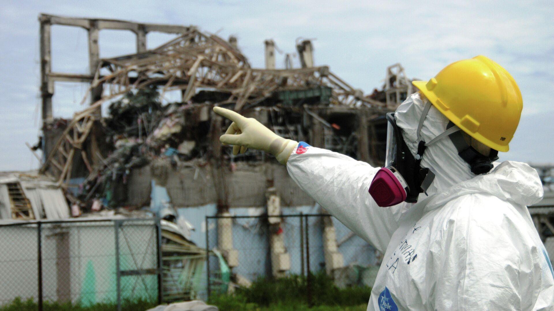 El tercer reactor de la planta nuclear de Fukushima Dai-ichi en mayo de 2011 - Sputnik Mundo, 1920, 11.03.2021