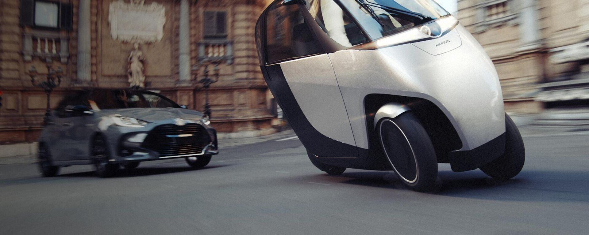 El Nimbus Halo, un un vehículo que combina las características de una moto y un auto eléctrico - Sputnik Mundo, 1920, 11.03.2021