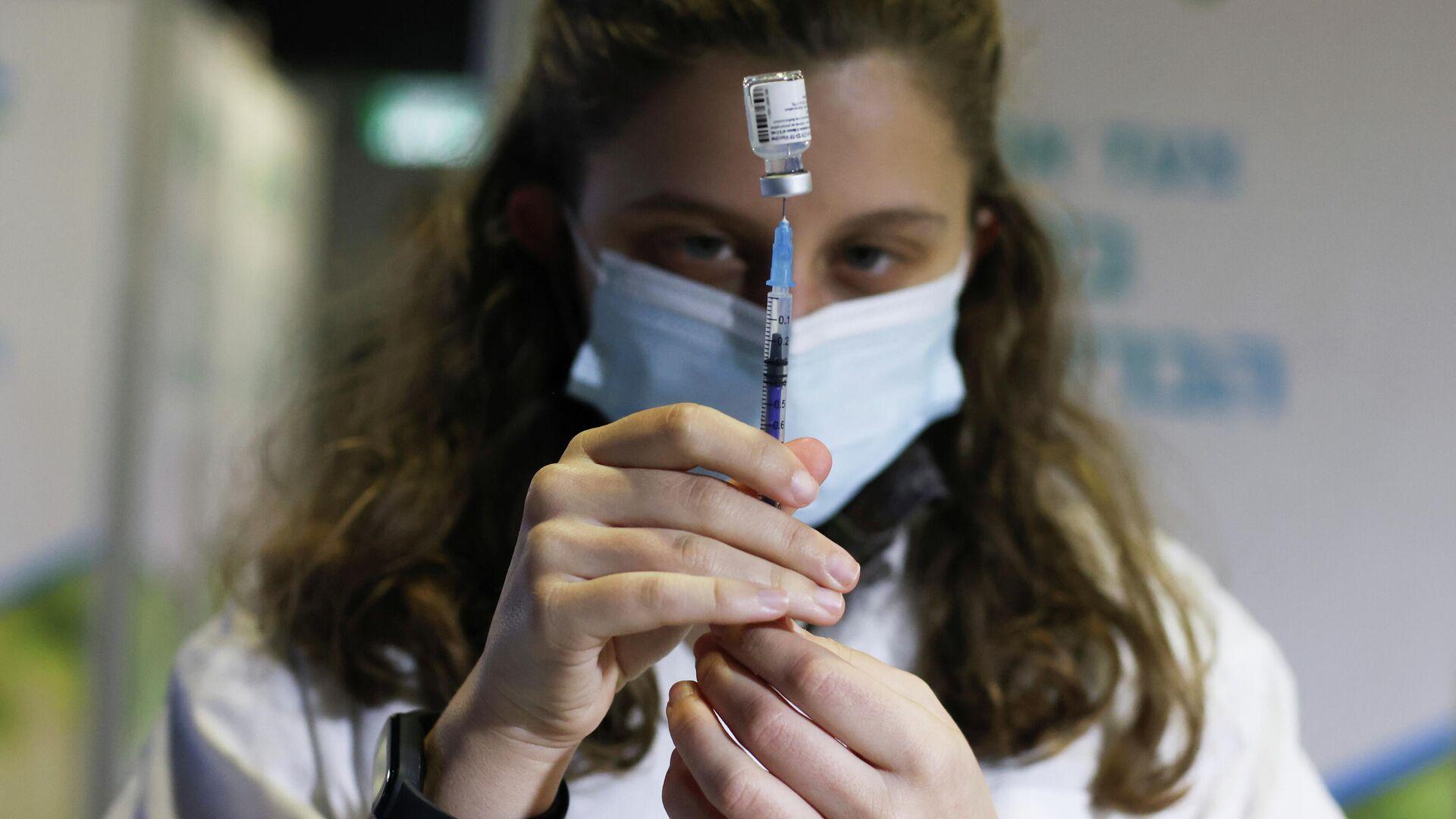 Vacunación en Israel - Sputnik Mundo, 1920, 11.03.2021