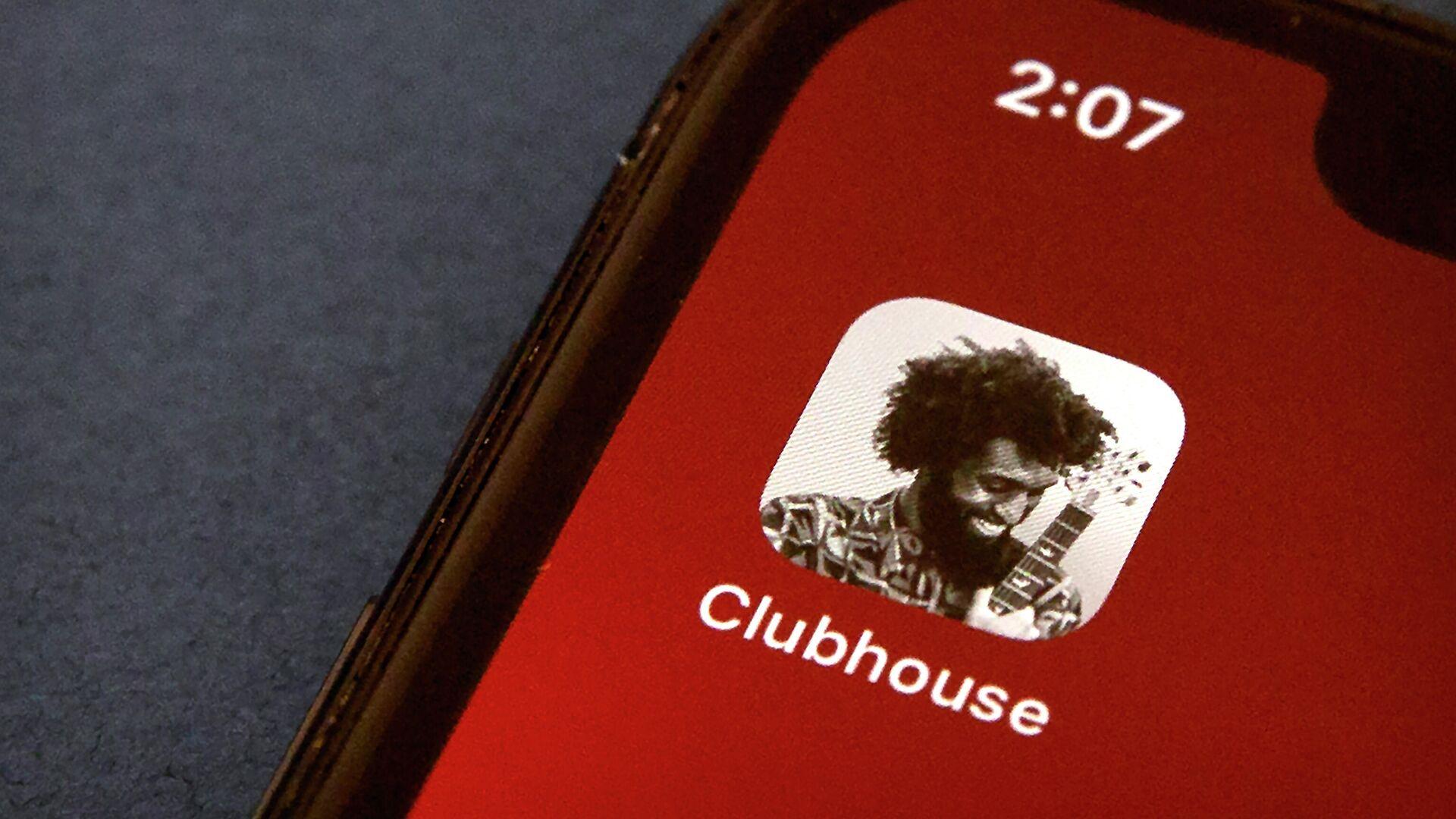 La aplicación Clubhouse - Sputnik Mundo, 1920, 11.03.2021