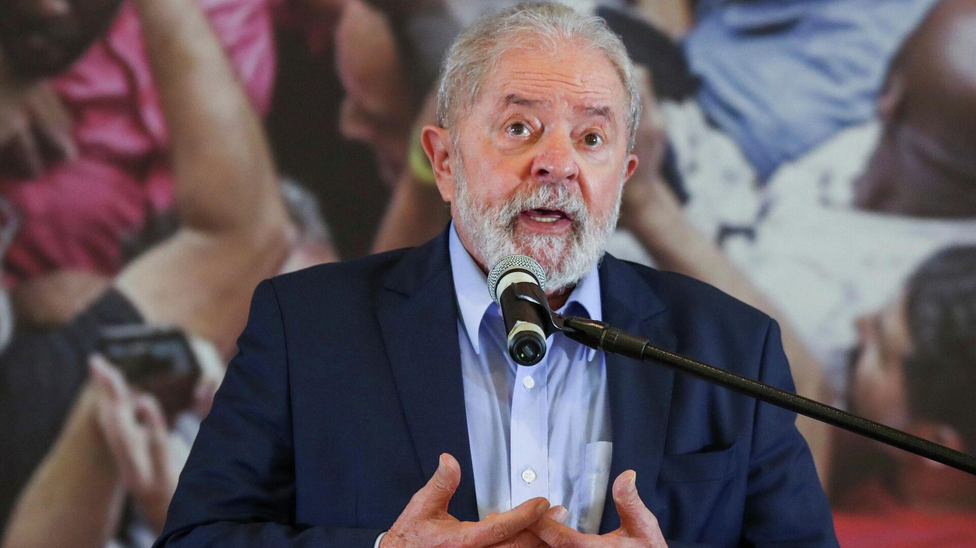 Luiz Inácio Lula da Silva, expresidente brasileño - Sputnik Mundo, 1920, 07.04.2021
