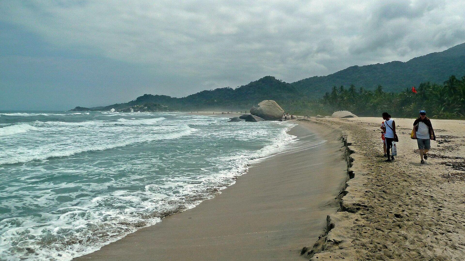 Playa Arrecife, Tayrona, Colombia - Sputnik Mundo, 1920, 11.03.2021