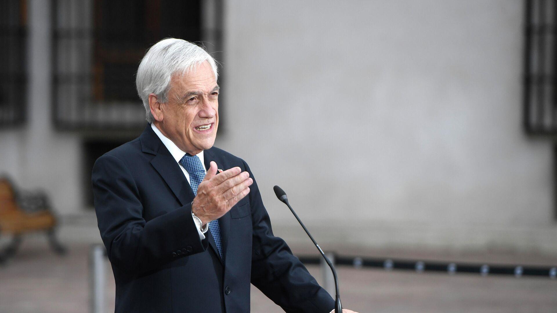 Presidente chileno, Sebastián Piñera - Sputnik Mundo, 1920, 26.03.2021