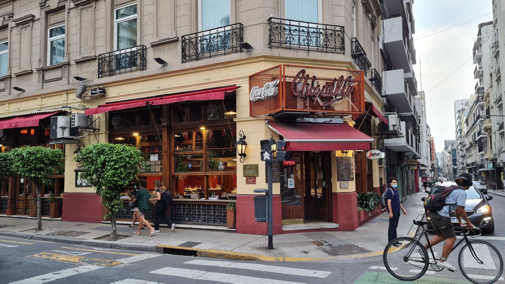 Chiquilín, restaurante nombrado en honor a la canción de Piazzolla y el desaparecido restaurante Bachín. - Sputnik Mundo, 1920, 12.03.2021