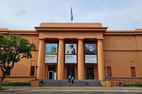 Museo Nacional de Bellas Artes, frente a la Plaza Francia.  - Sputnik Mundo