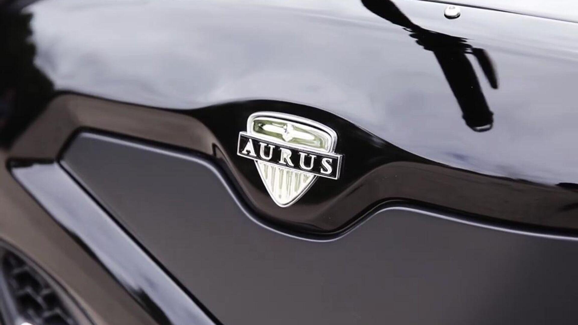 El logo de la marca de lujo Aurus - Sputnik Mundo, 1920, 04.06.2021