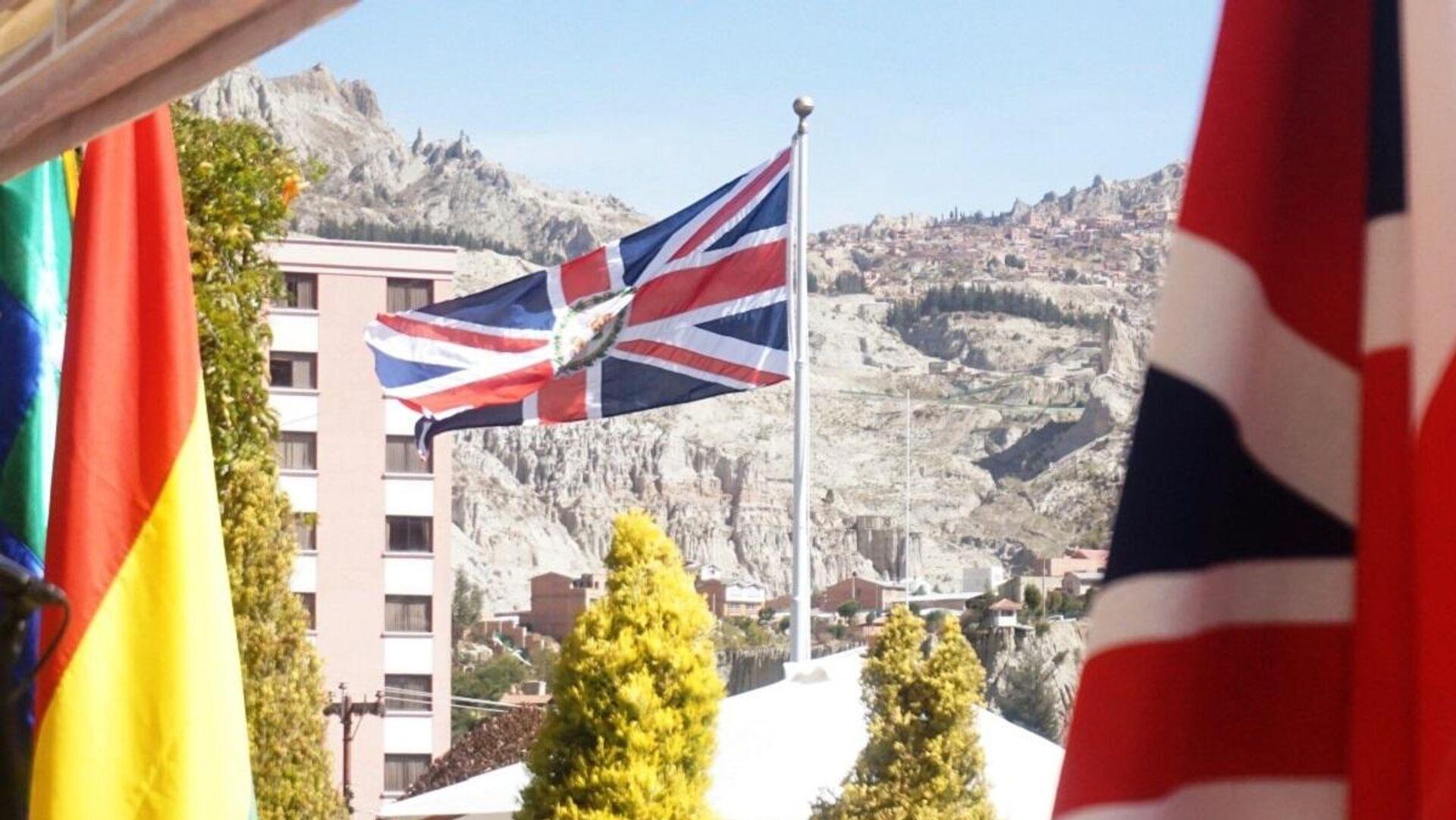 Embajada británica en La Paz, Bolivia - Sputnik Mundo, 1920, 12.03.2021