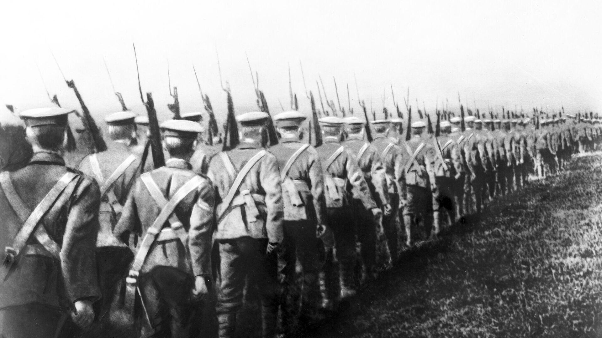 Soldados británicos en el Cáucaso durante la guerra civil rusa - Sputnik Mundo, 1920, 12.03.2021