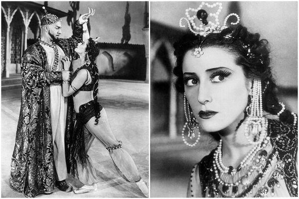 Escenas del ballet 'La fuente de Bajchisarái' (1953). Zarema - Maya Plisétskaya - Sputnik Mundo