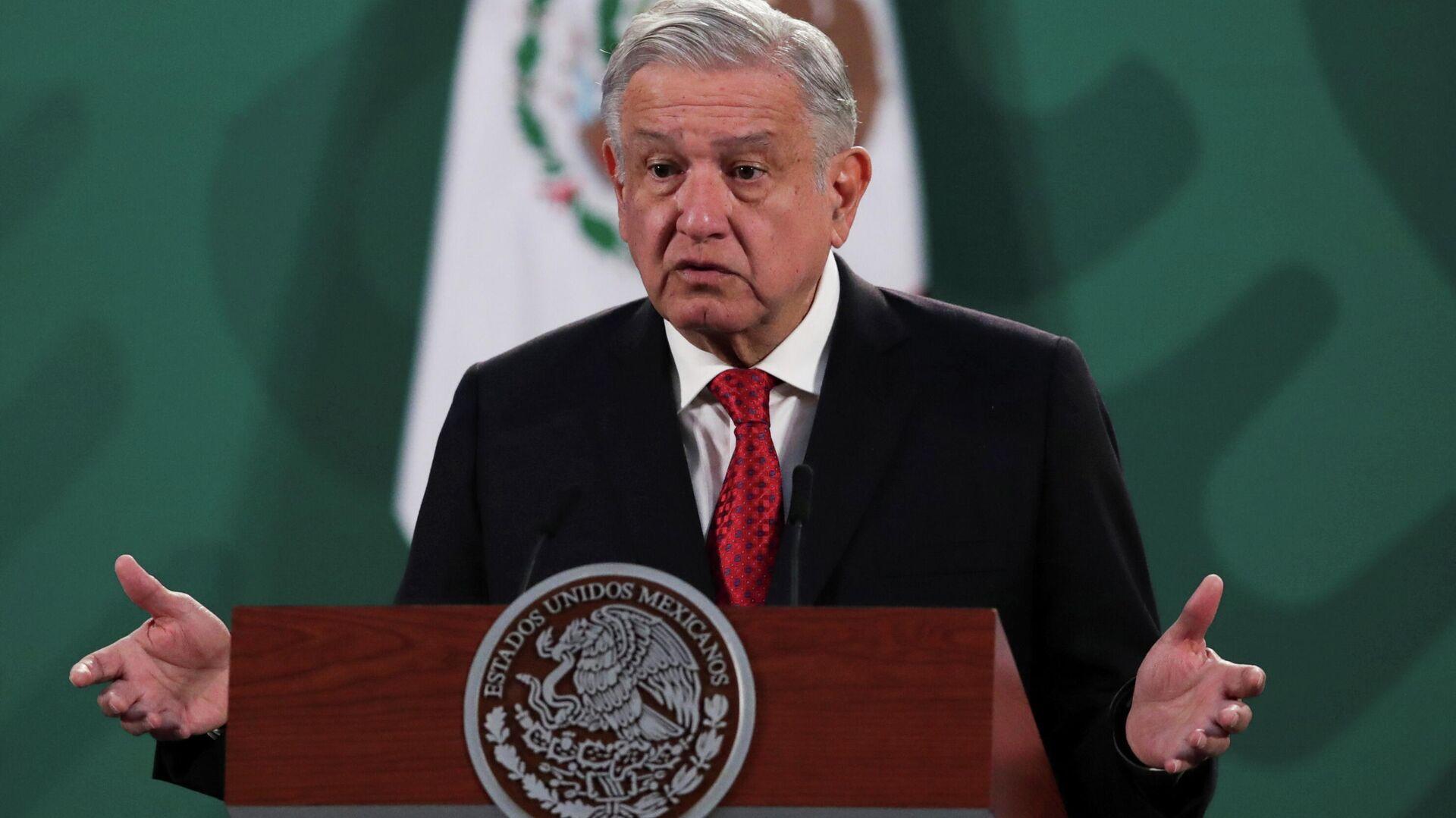 Andrés Manuel López Obrador, presidente de México - Sputnik Mundo, 1920, 15.03.2021