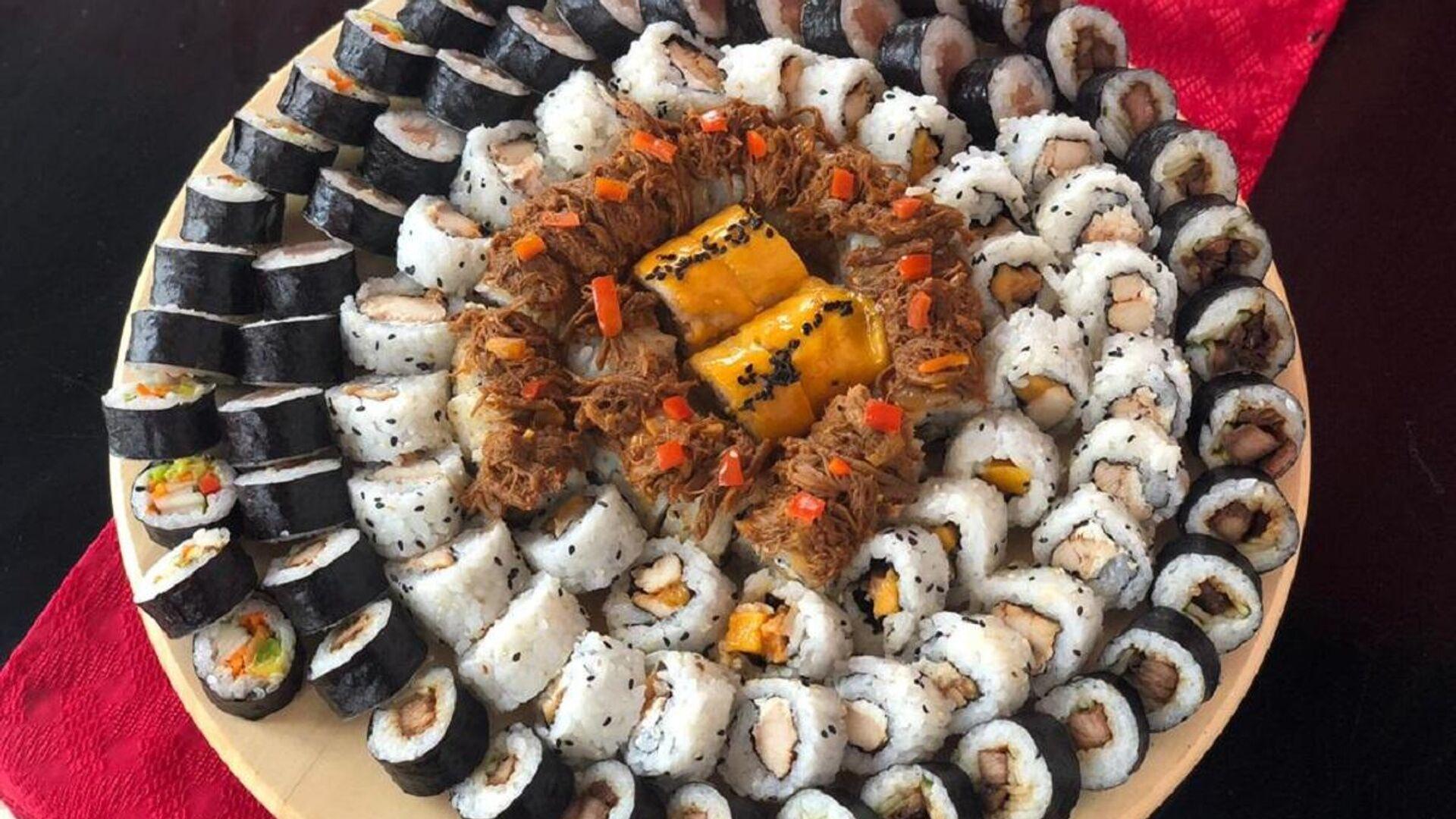 Sushi con ingredientes cubanos - Sputnik Mundo, 1920, 15.03.2021