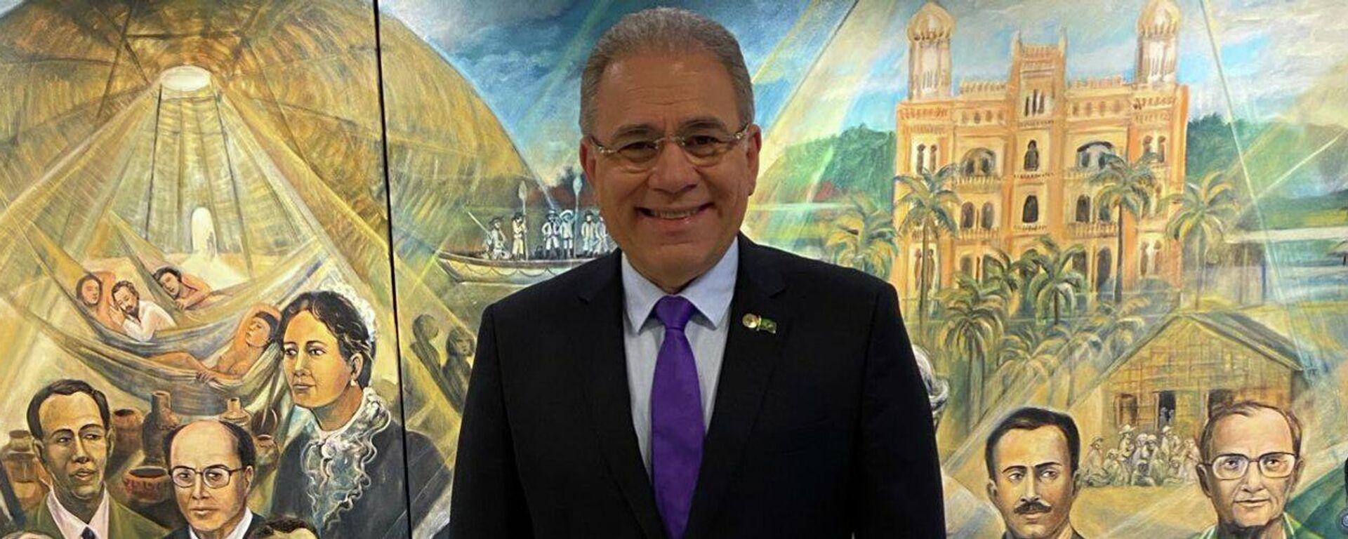 Marcelo Queiroga, ministro de Salud de Brasil - Sputnik Mundo, 1920, 30.04.2021