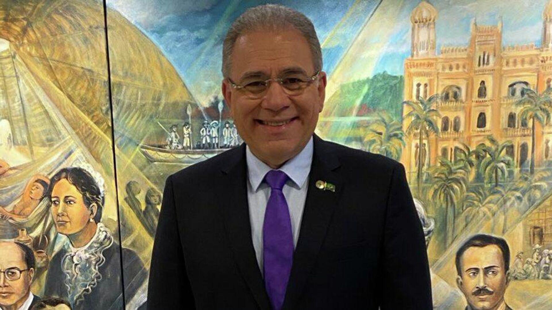 Marcelo Queiroga, ministro de Salud de Brasil - Sputnik Mundo, 1920, 15.03.2021