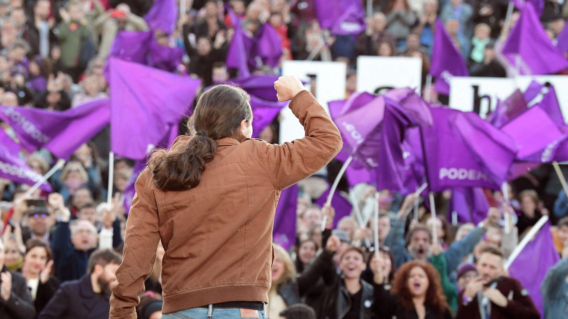 Pablo Iglesías, líder de Unidas Podemos - Sputnik Mundo, 1920, 16.03.2021
