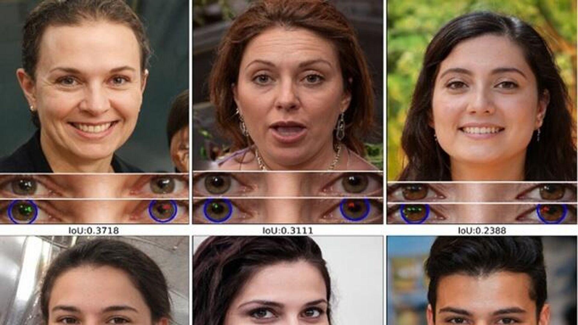 Unas caras de personas creadas con la tecnología de deepfake - Sputnik Mundo, 1920, 16.03.2021