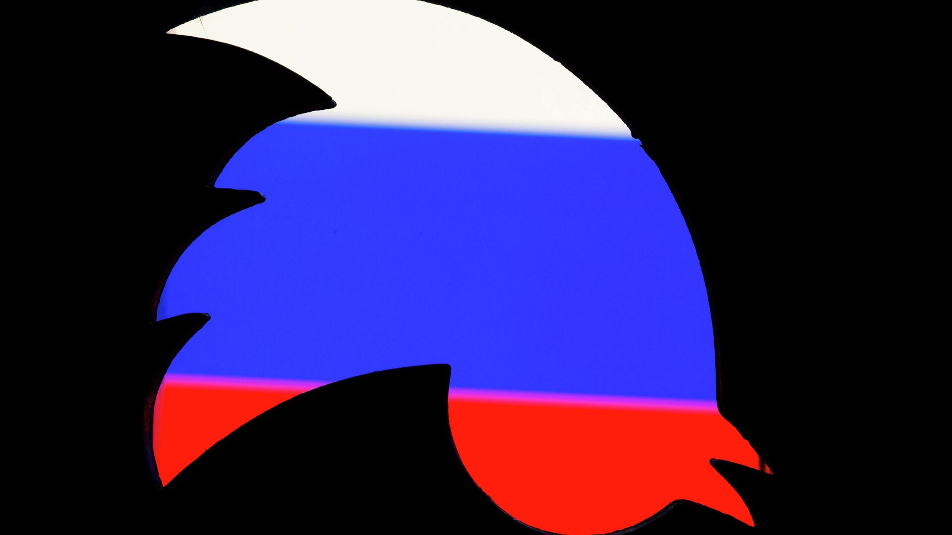 Logo de Twitter y la bandera de Rusia - Sputnik Mundo, 1920, 02.04.2021