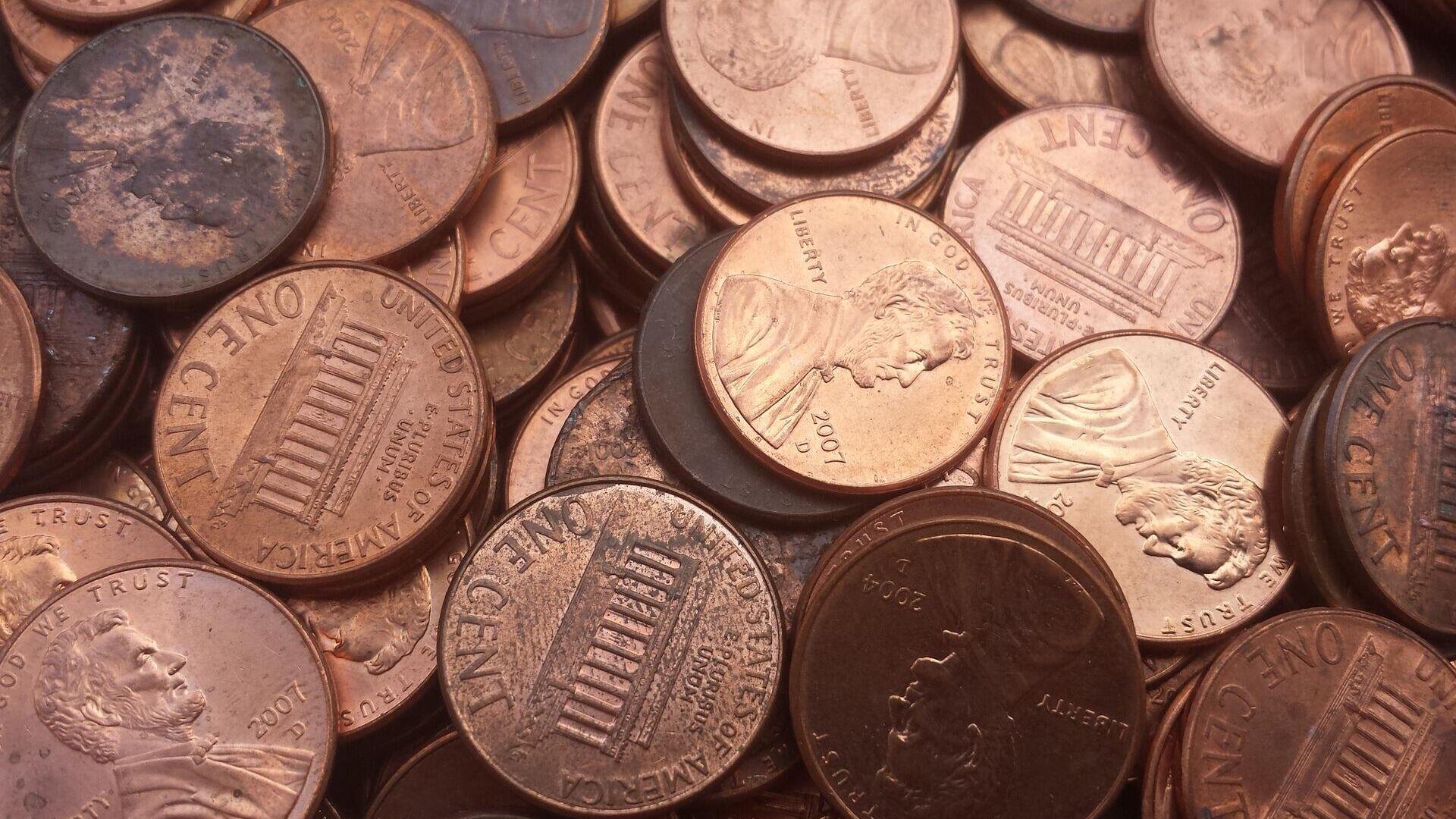Monedas estadounidenses (imagen referencial) - Sputnik Mundo, 1920, 16.03.2021