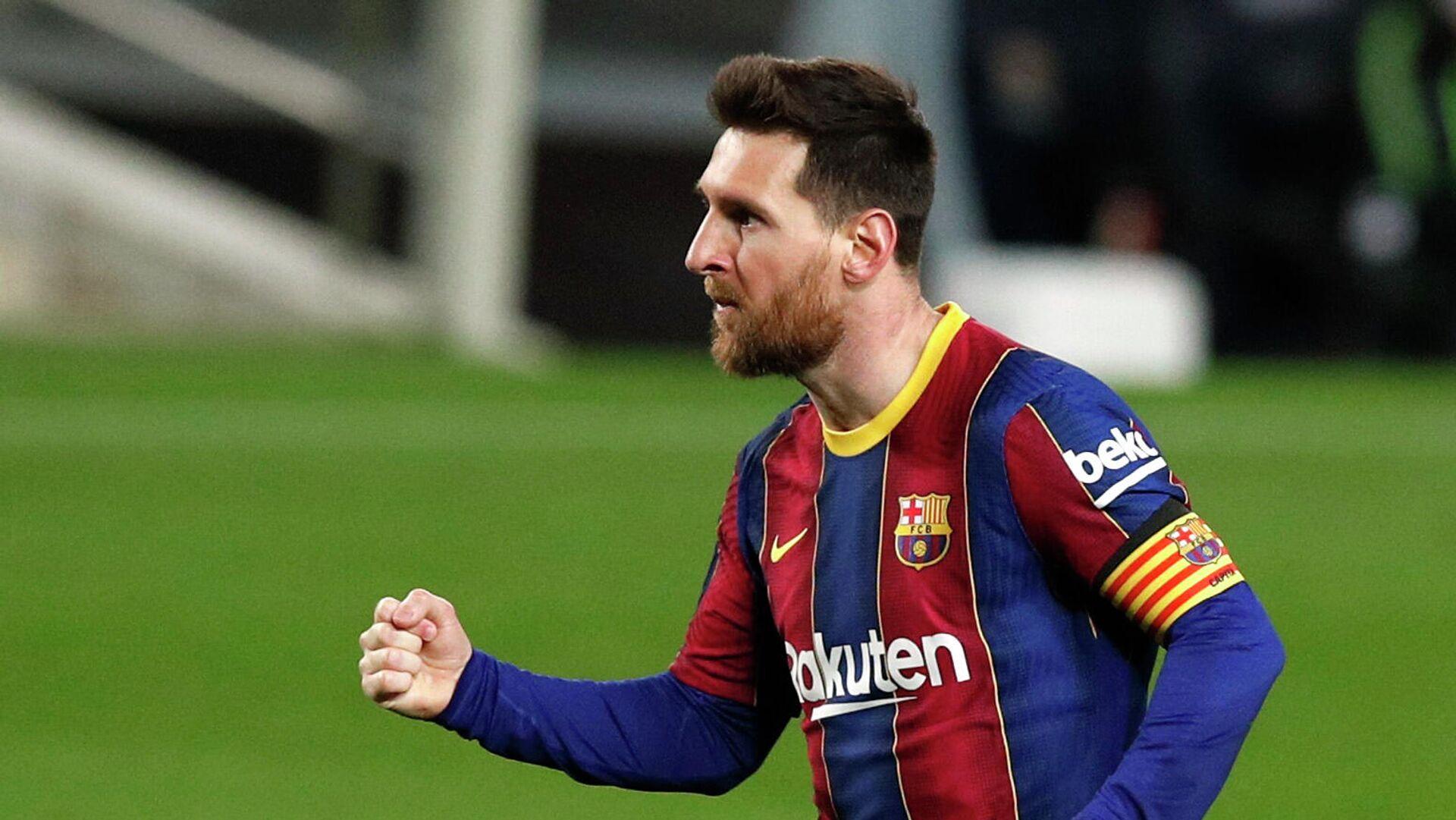 El futbolista Lionel Messi - Sputnik Mundo, 1920, 16.03.2021