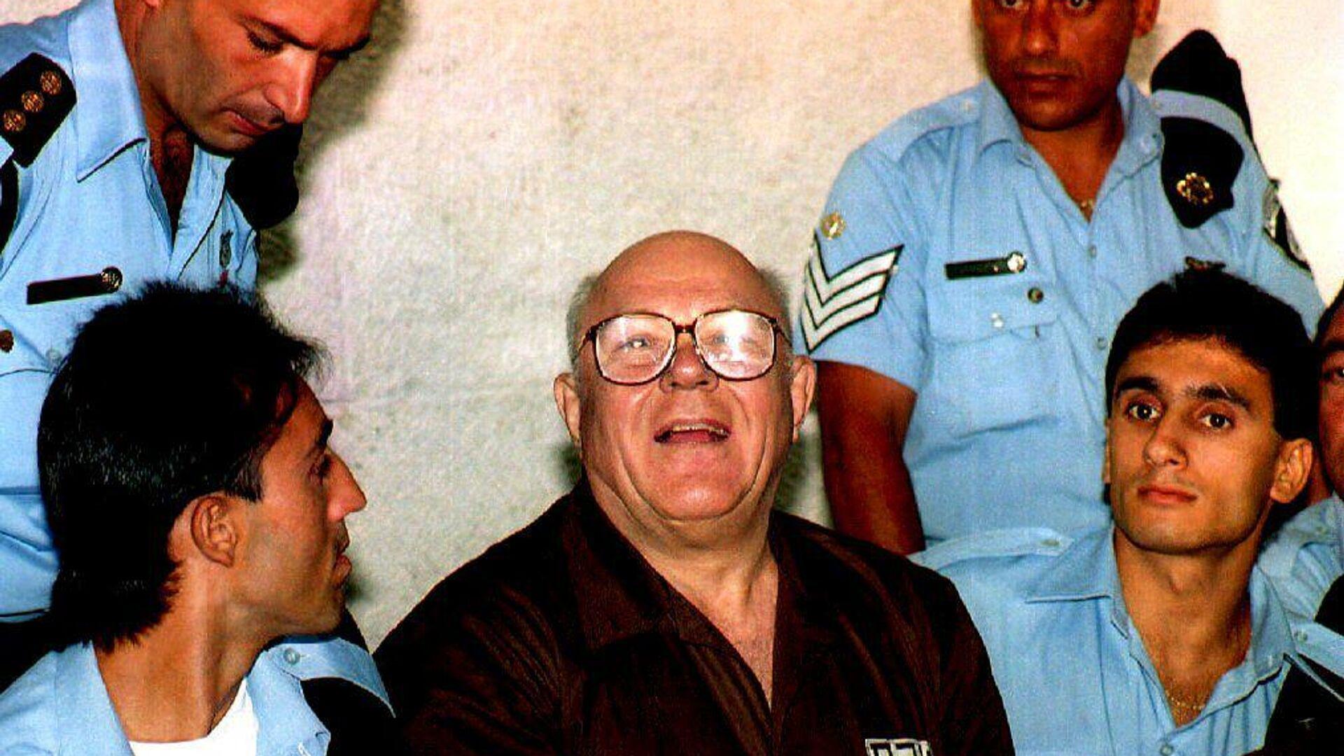 John Demjanjuk en la Corte Suprema de Israel en 1993 - Sputnik Mundo, 1920, 17.03.2021