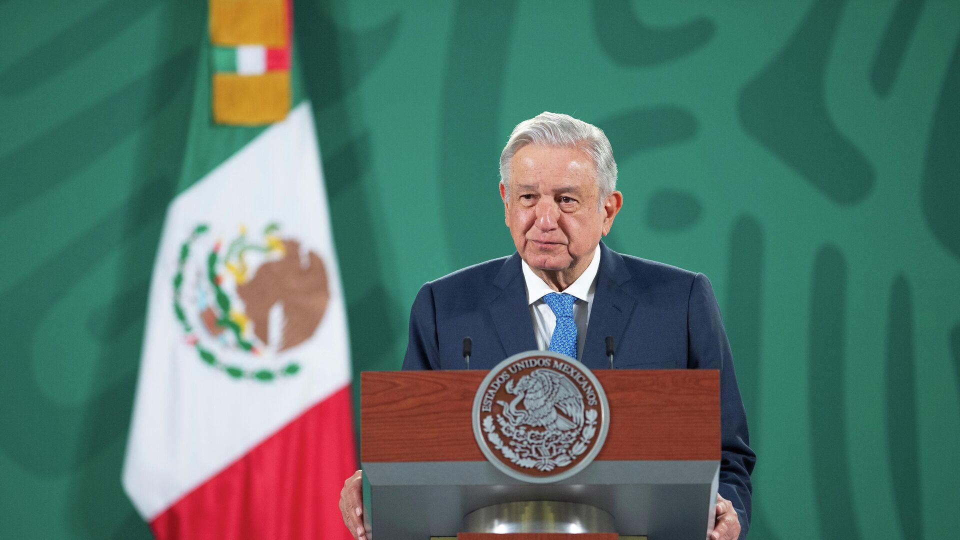 Andrés Manuel López Obrador, presidente de México - Sputnik Mundo, 1920, 15.04.2021