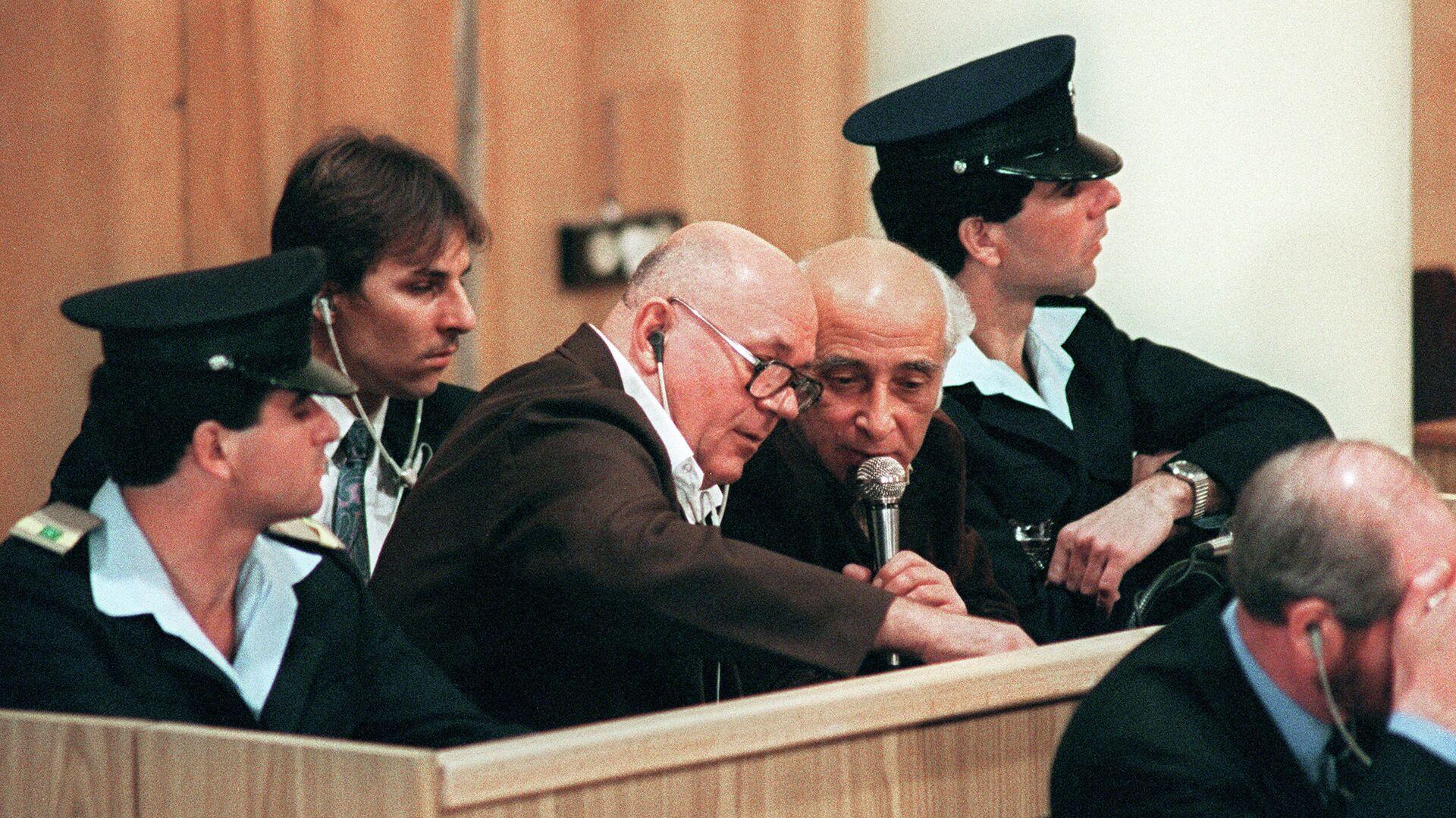 John Demjanjuk durante el juicio en Jerusalén - Sputnik Mundo, 1920, 16.03.2021