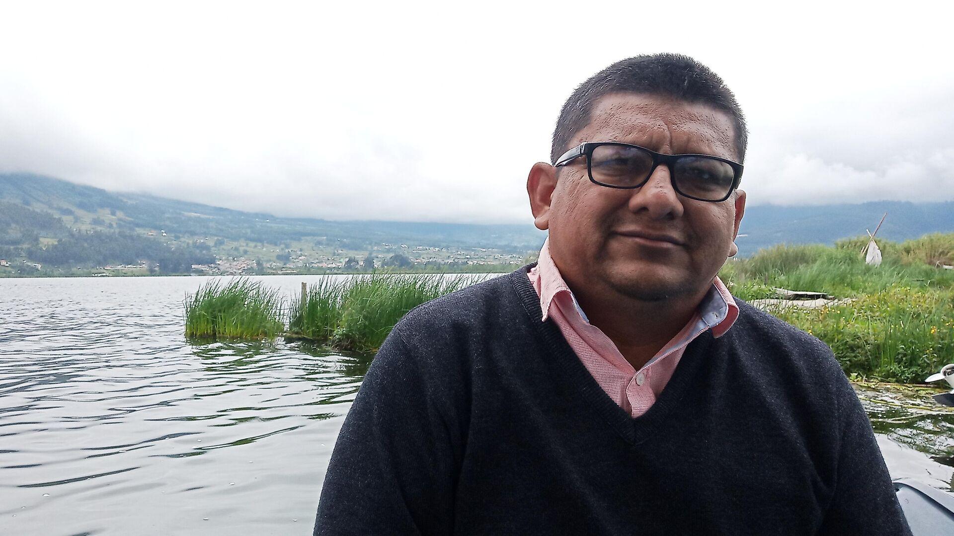 Daniel Soriano, del Colectivo de Organizaciones de Pescadores Artesanales - Sputnik Mundo, 1920, 17.03.2021