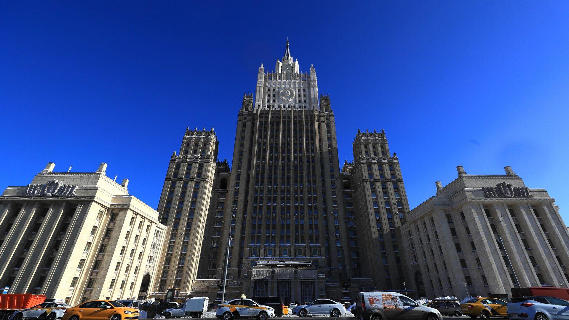 Ministerio de Asuntos Exteriores de Rusia - Sputnik Mundo, 1920, 01.04.2021
