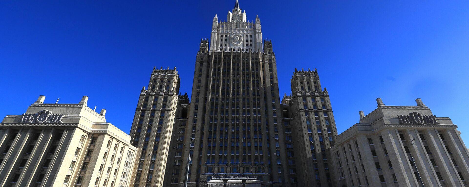 Ministerio de Asuntos Exteriores de Rusia - Sputnik Mundo, 1920, 14.04.2021