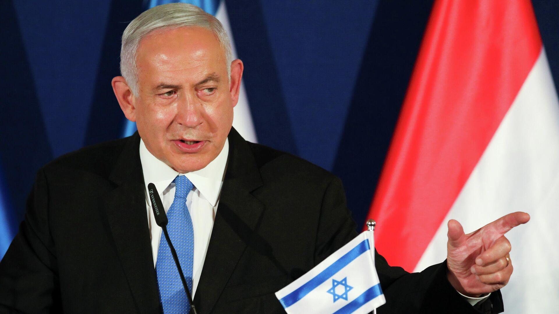 Benjamín Netanyahu, primer ministro israelí - Sputnik Mundo, 1920, 21.03.2021