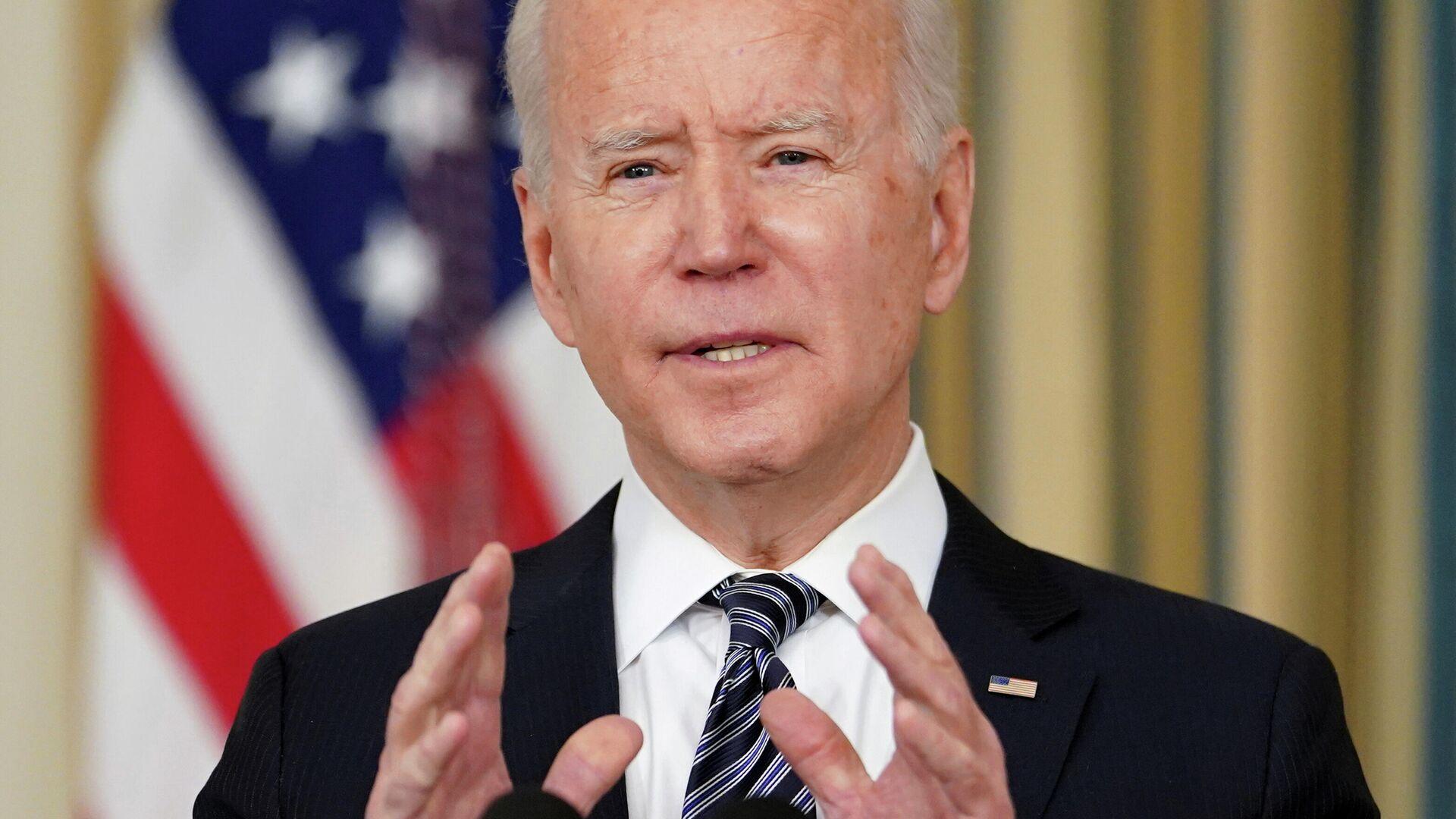 Joe Biden, presidente de Estados Unidos - Sputnik Mundo, 1920, 09.04.2021
