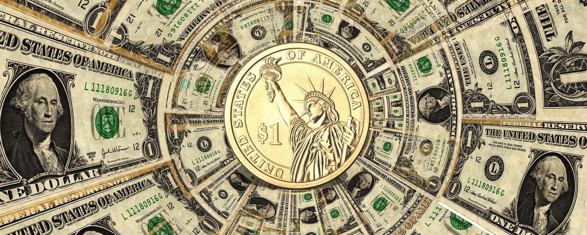 Dólares (imagen referencial) - Sputnik Mundo, 1920, 03.06.2021