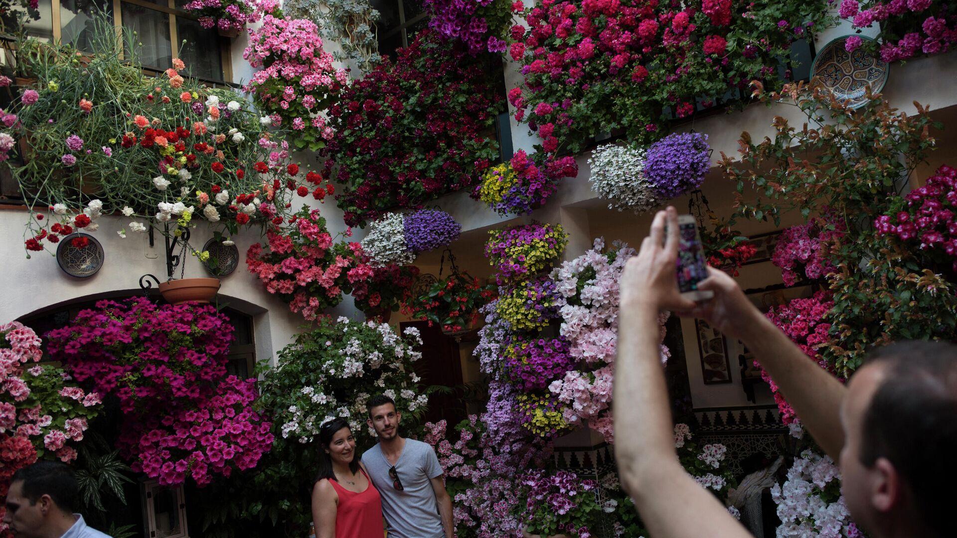 Patios decorados con flores de Córdoba - Sputnik Mundo, 1920, 08.05.2021