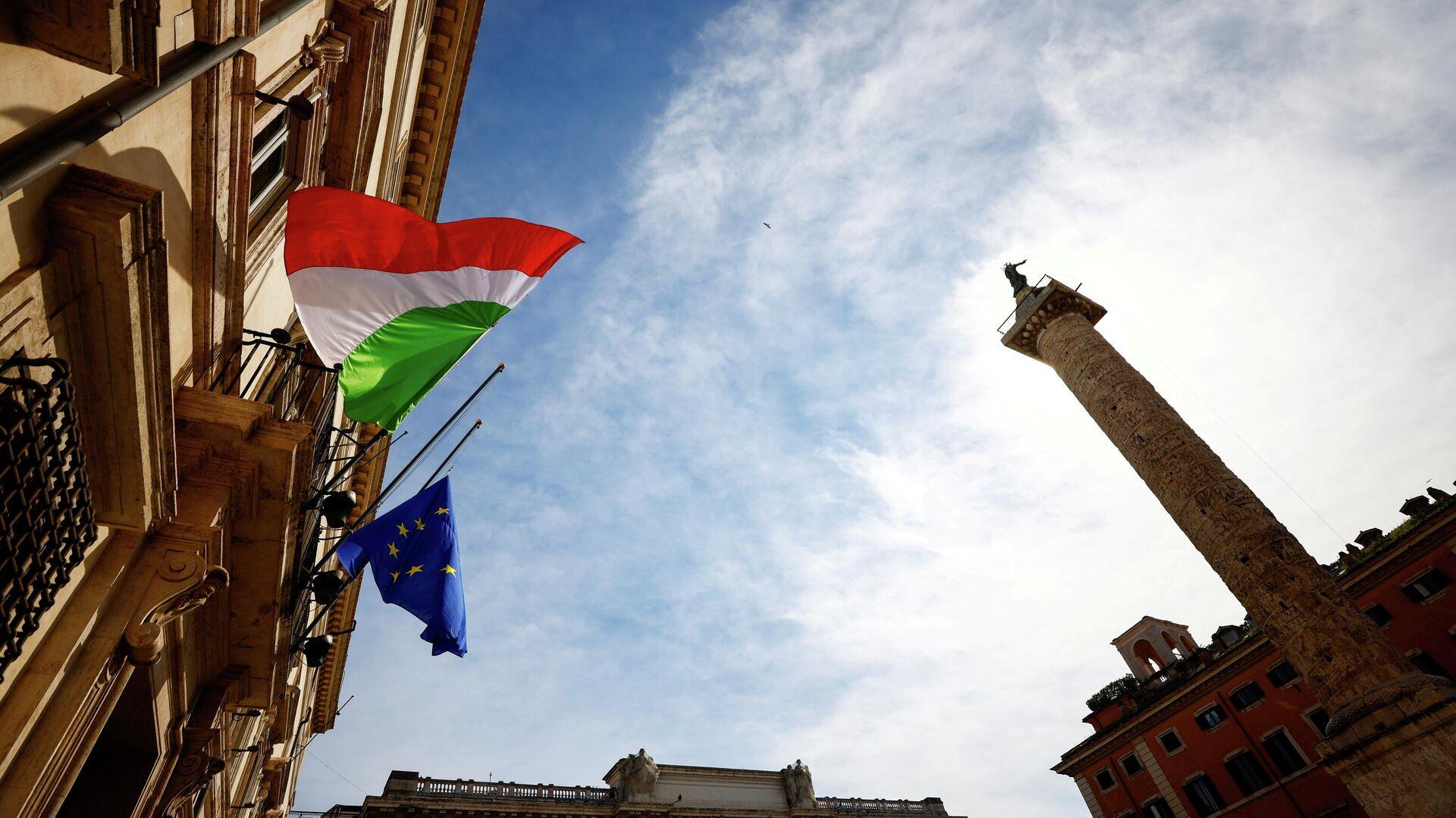 Banderas izadas el primer Día de la memoria de las víctimas del COVID-19 - Sputnik Mundo, 1920, 18.03.2021