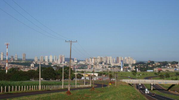 Vista de la zona sur de Ribeirão Preto - Sputnik Mundo