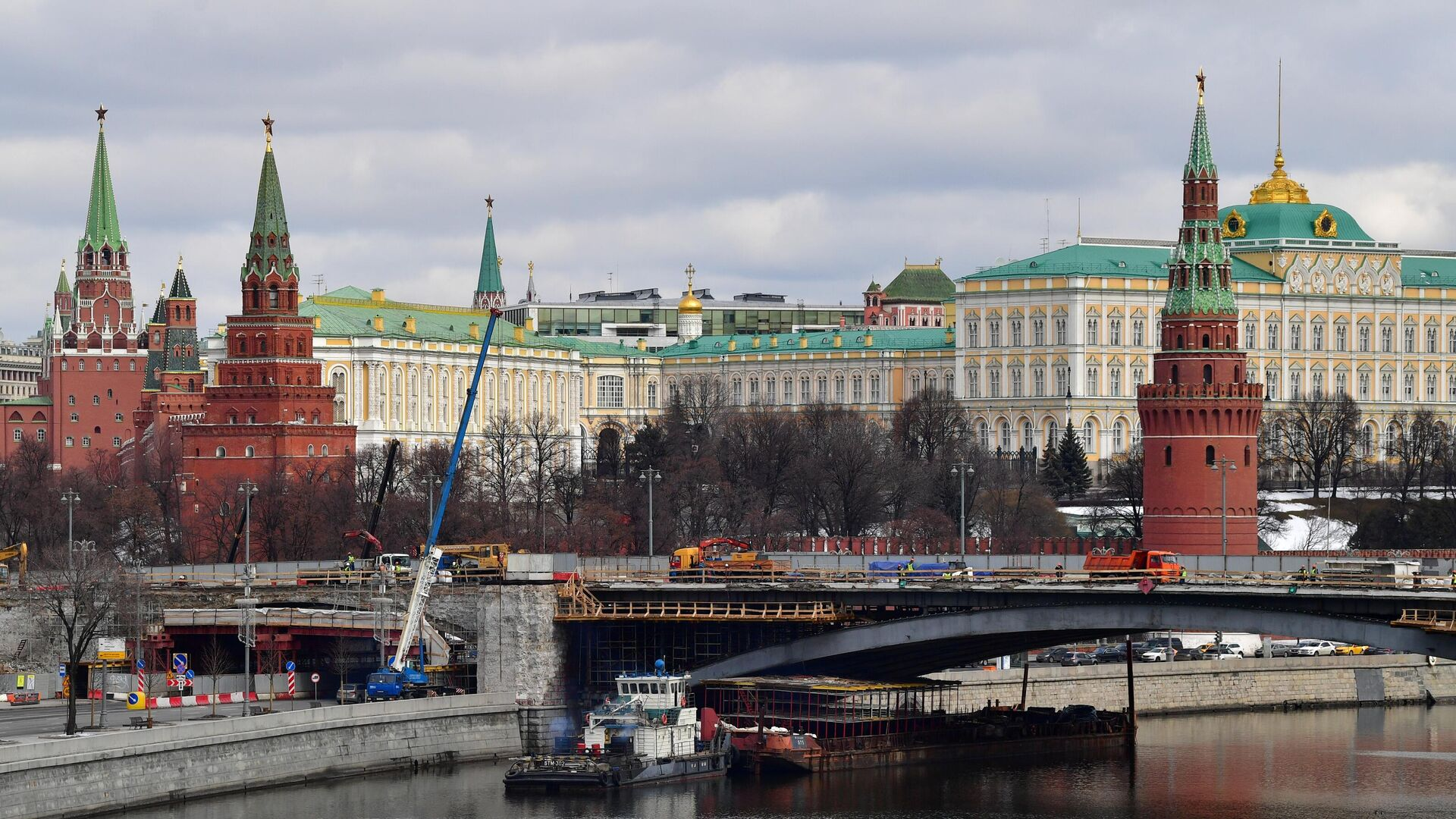 El Kremlin de Moscú - Sputnik Mundo, 1920, 19.03.2021