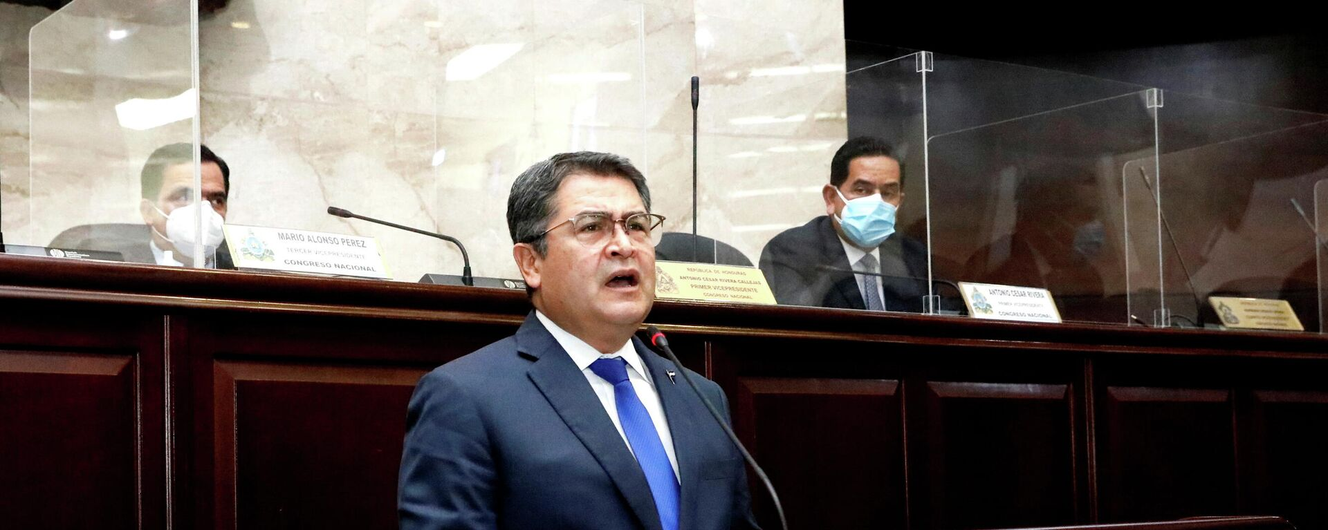 Juan Orlando Hernández, presidente de Honduras - Sputnik Mundo, 1920, 19.03.2021