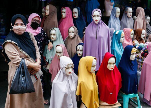 Mercado textil de Tanah Abang en Yakarta, Indonesia. - Sputnik Mundo