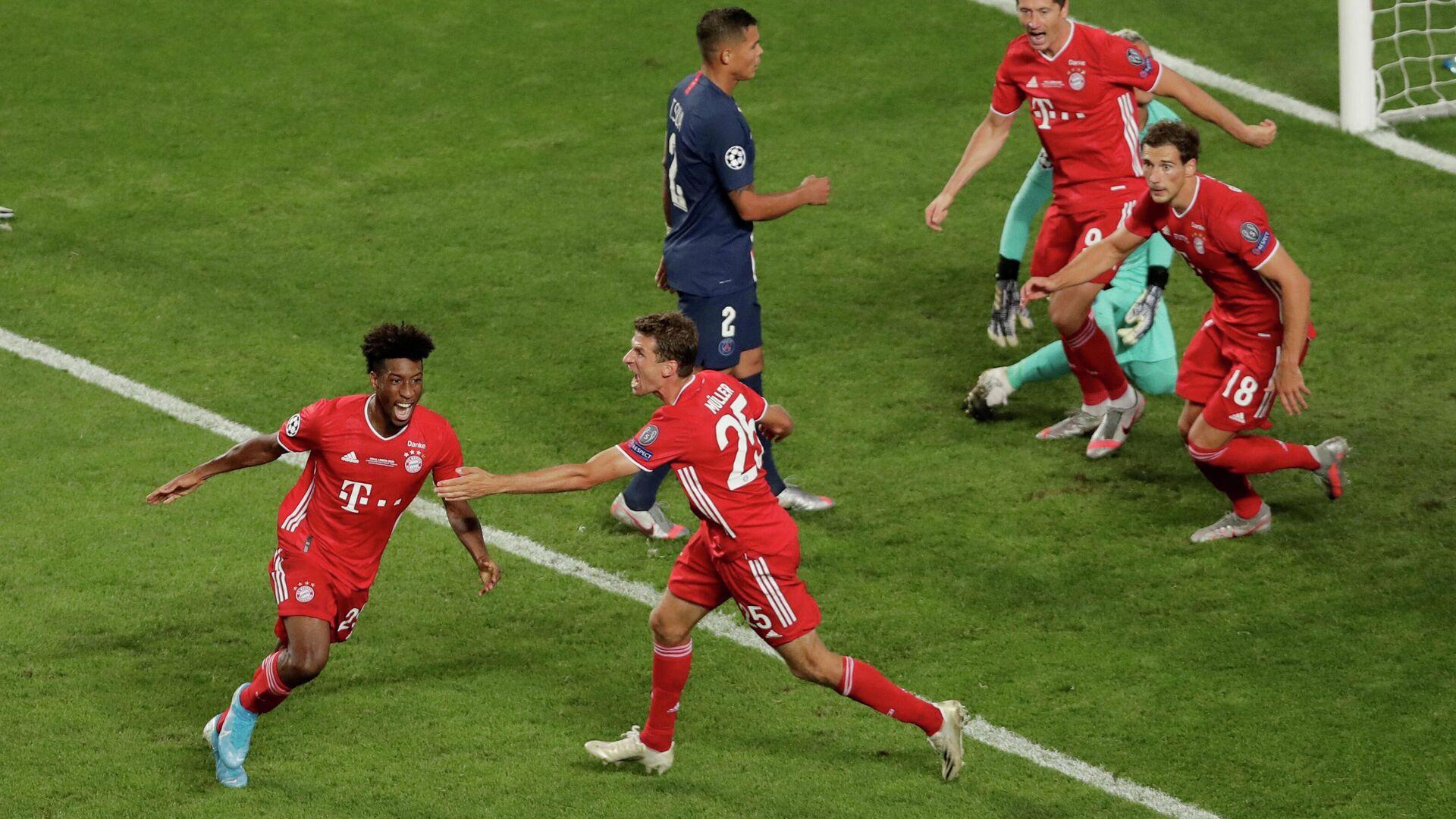 El partido entre el Bayern de Múnich y el Paris Saint-Germain (PSG) - Sputnik Mundo, 1920, 19.03.2021