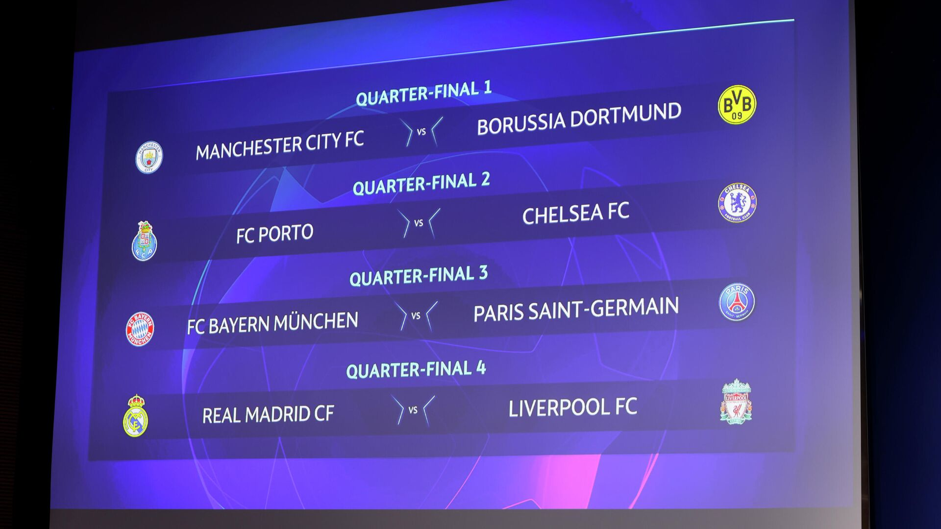 La tabla de cruces de los cuartos de final de la Champions League 2021 - Sputnik Mundo, 1920, 19.03.2021