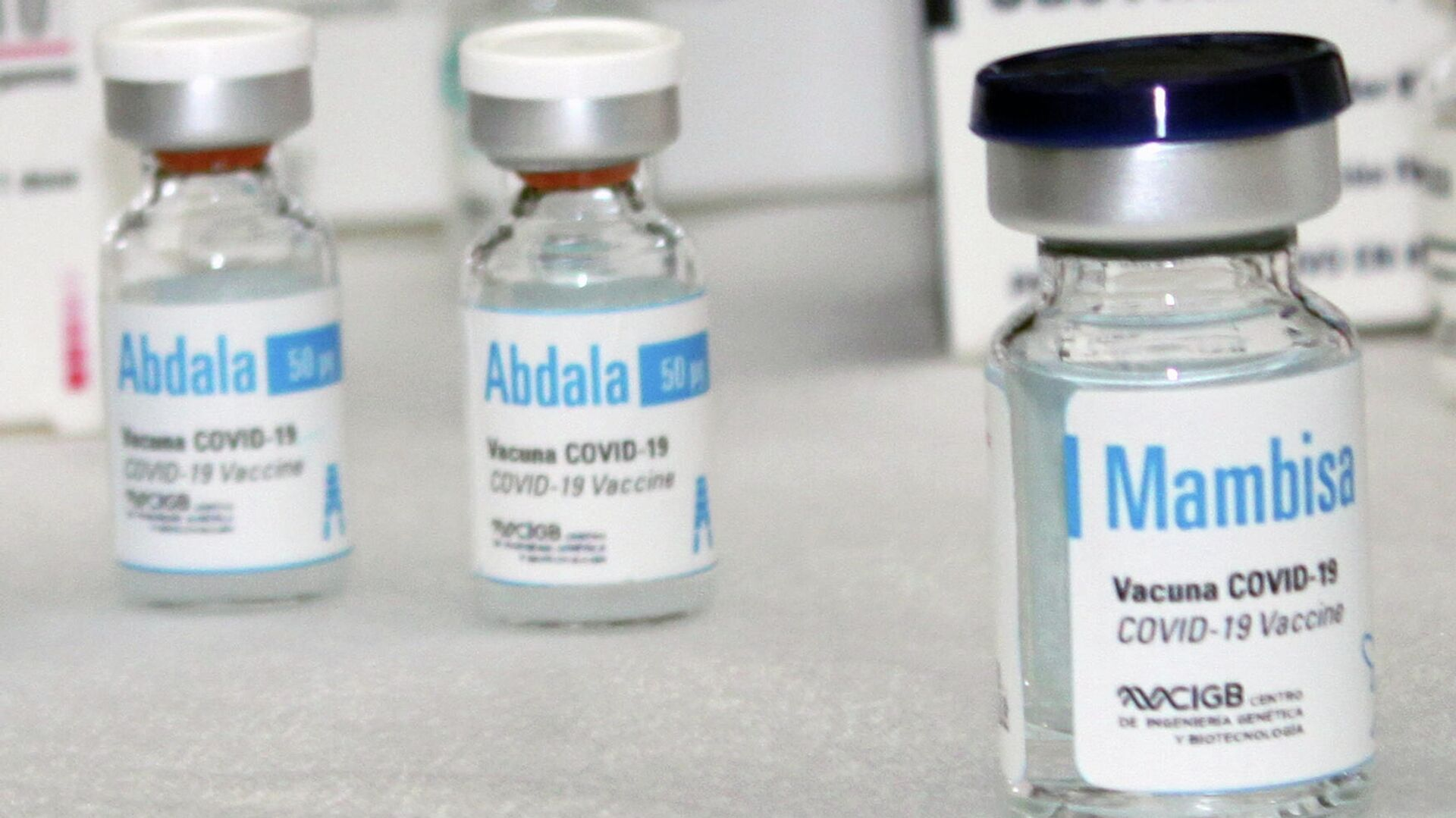 Vacunas Abdala y Mambisa- desarrolladas por el Centro de Ingeniería Genética y Biotecnología de Cuba - Sputnik Mundo, 1920, 22.06.2021