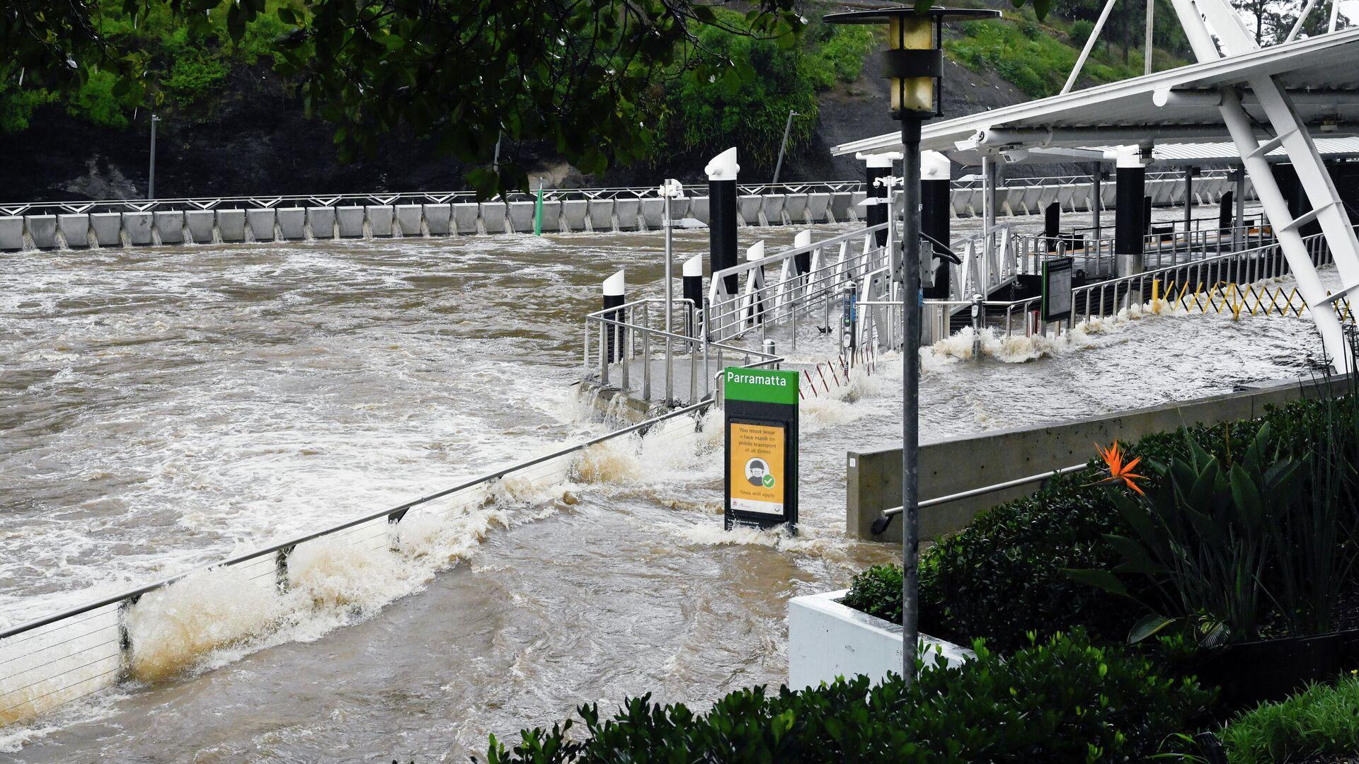 Inundaciones por las fuertes lluvias en Australia - Sputnik Mundo, 1920, 20.03.2021