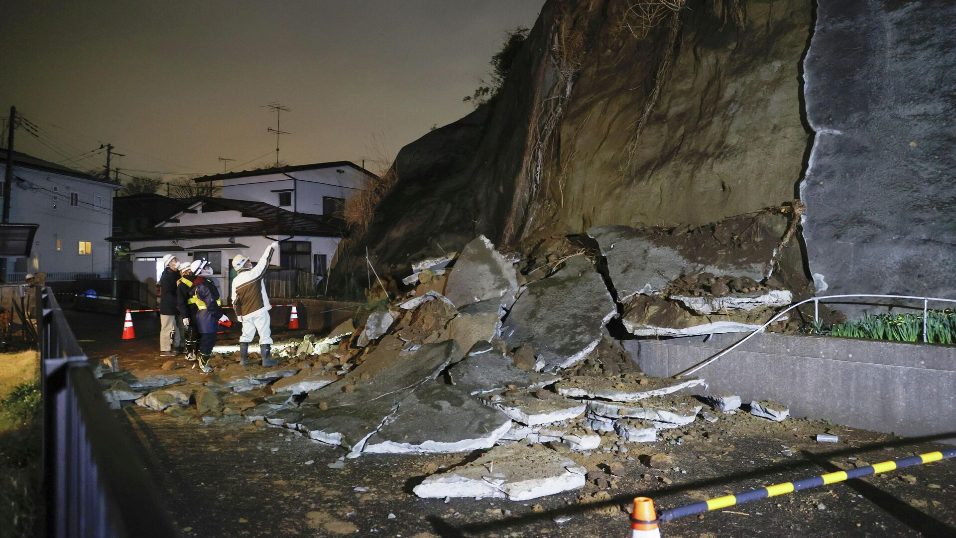 Las consecuencias del terremoto producido en la prefectura de Miyagi, Japón - Sputnik Mundo, 1920, 20.03.2021