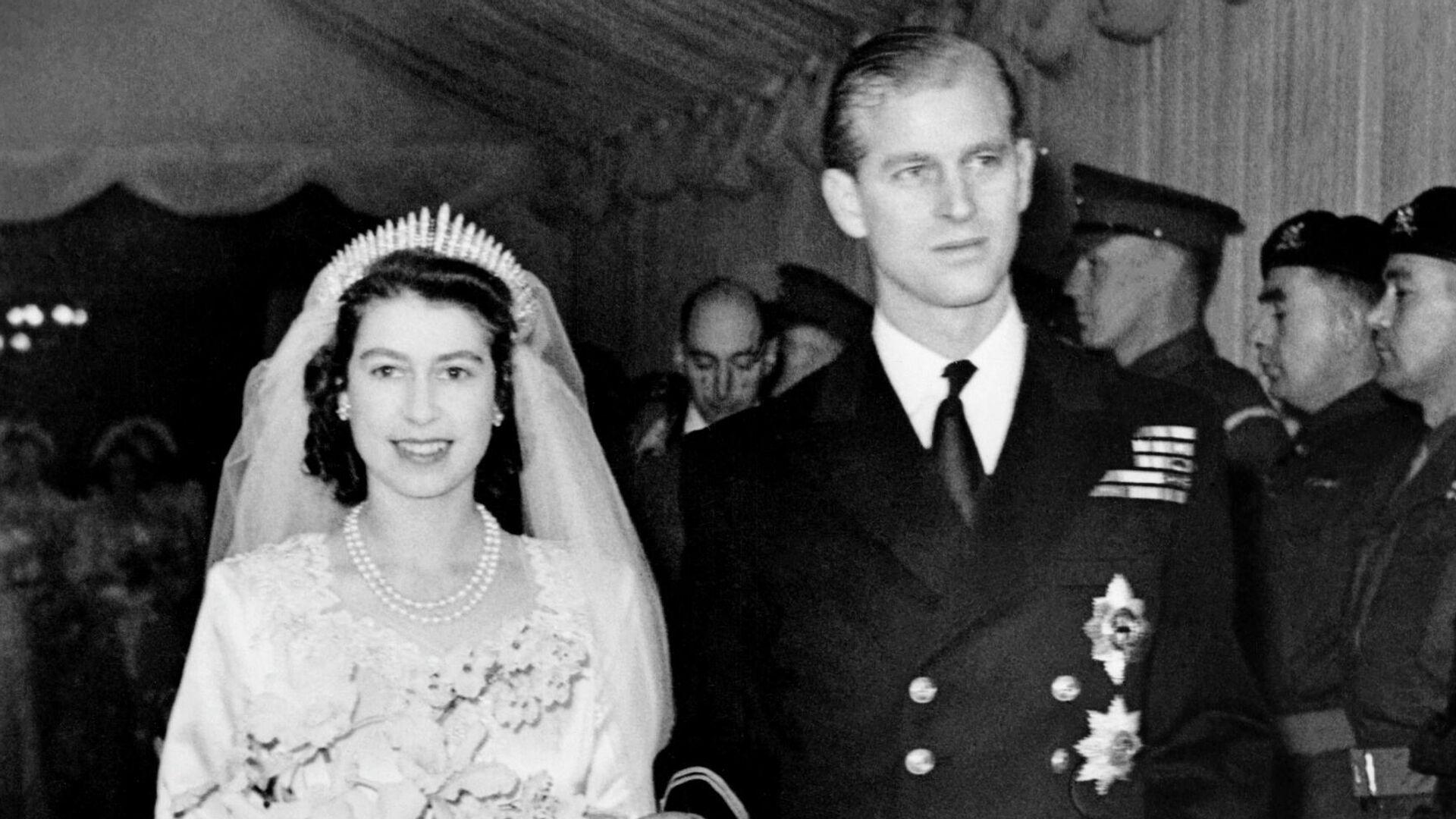 La boda de Isabel y el príncipe Felipe - Sputnik Mundo, 1920, 20.03.2021