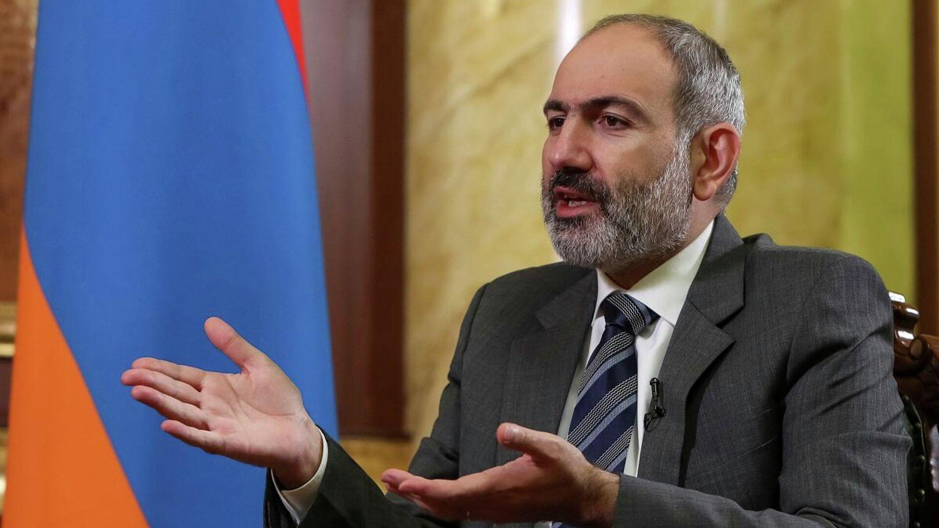 Nikol Pashinián, el primer ministro de Armenia - Sputnik Mundo, 1920, 21.03.2021