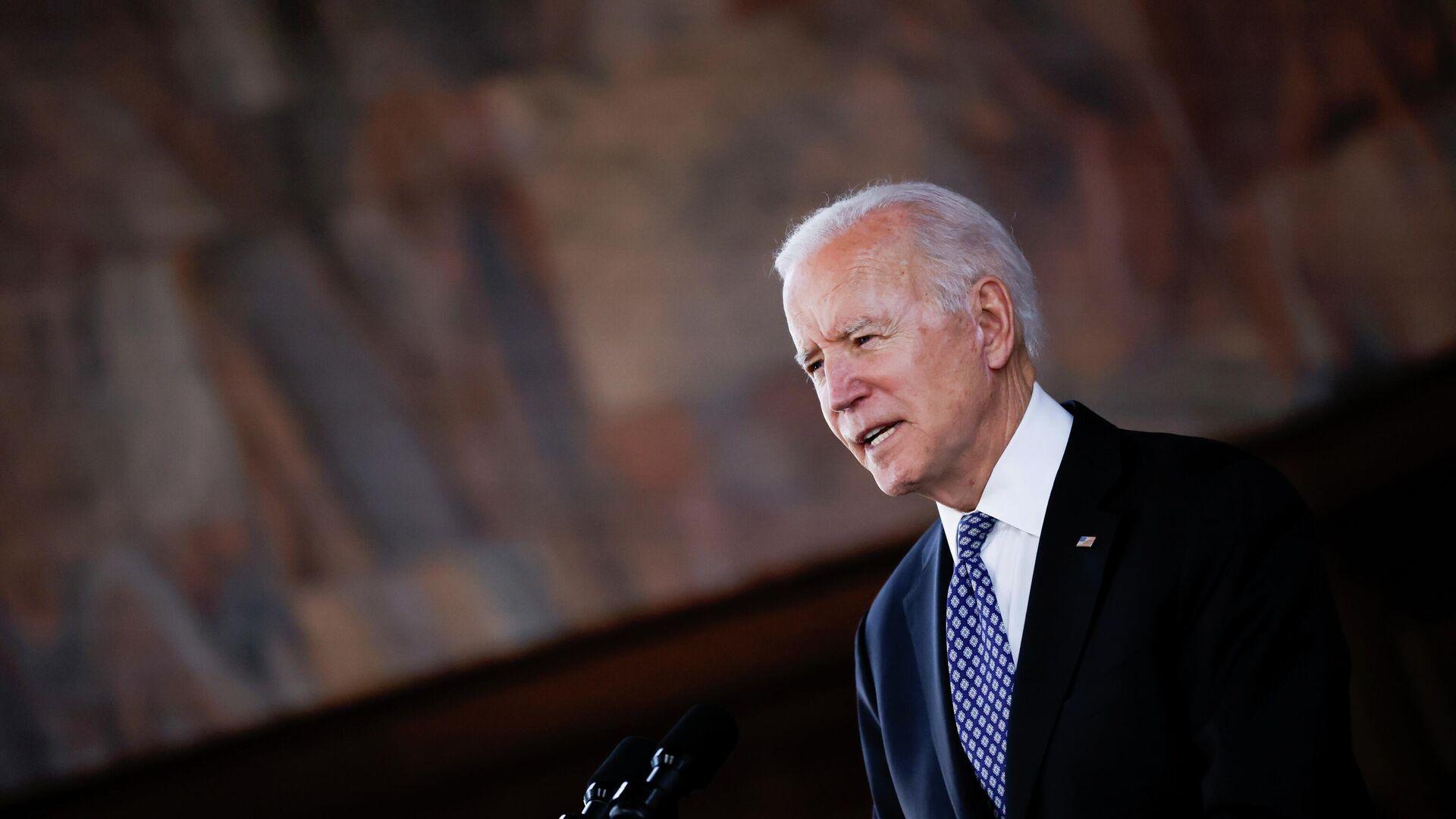 Joe Biden, presidente de EEUU - Sputnik Mundo, 1920, 02.04.2021