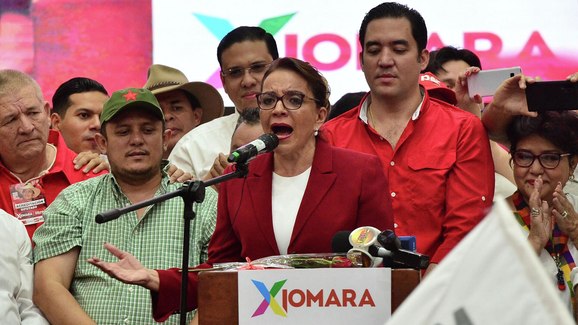Xiomara Castro, candidata presidenncial hondureña - Sputnik Mundo, 1920, 22.03.2021